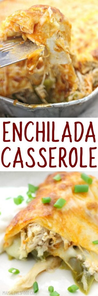 CHICKEN ENCHILADAS CASSEROLECHICKEN ENCHILADAS CASSEROLE
