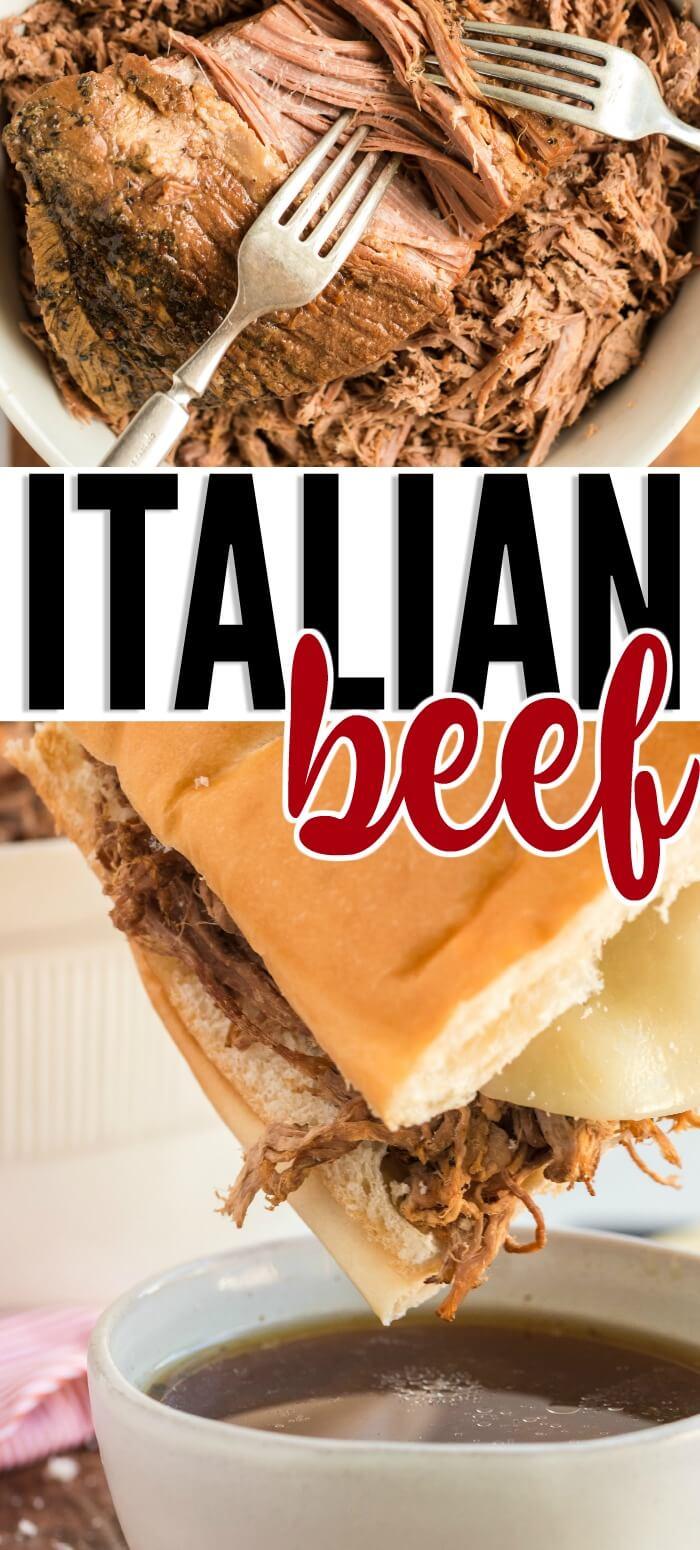 EASY ITALIAN BEEF