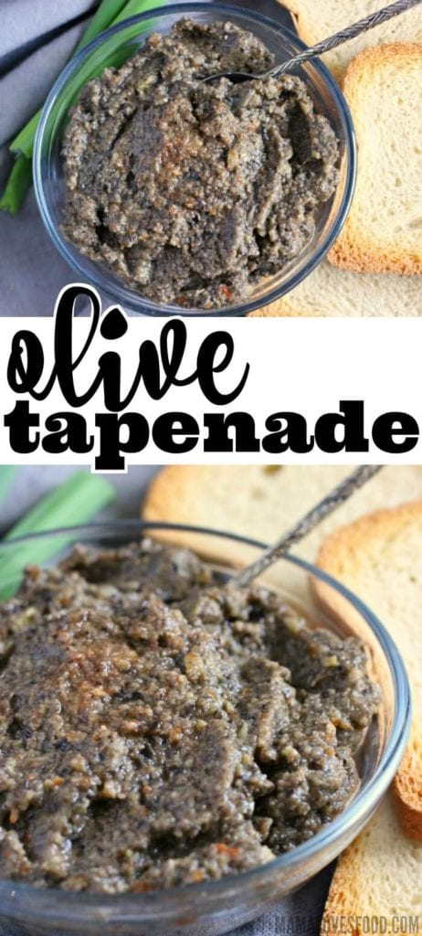 HOW DO YOU MAKE OLIVE TAPENADE