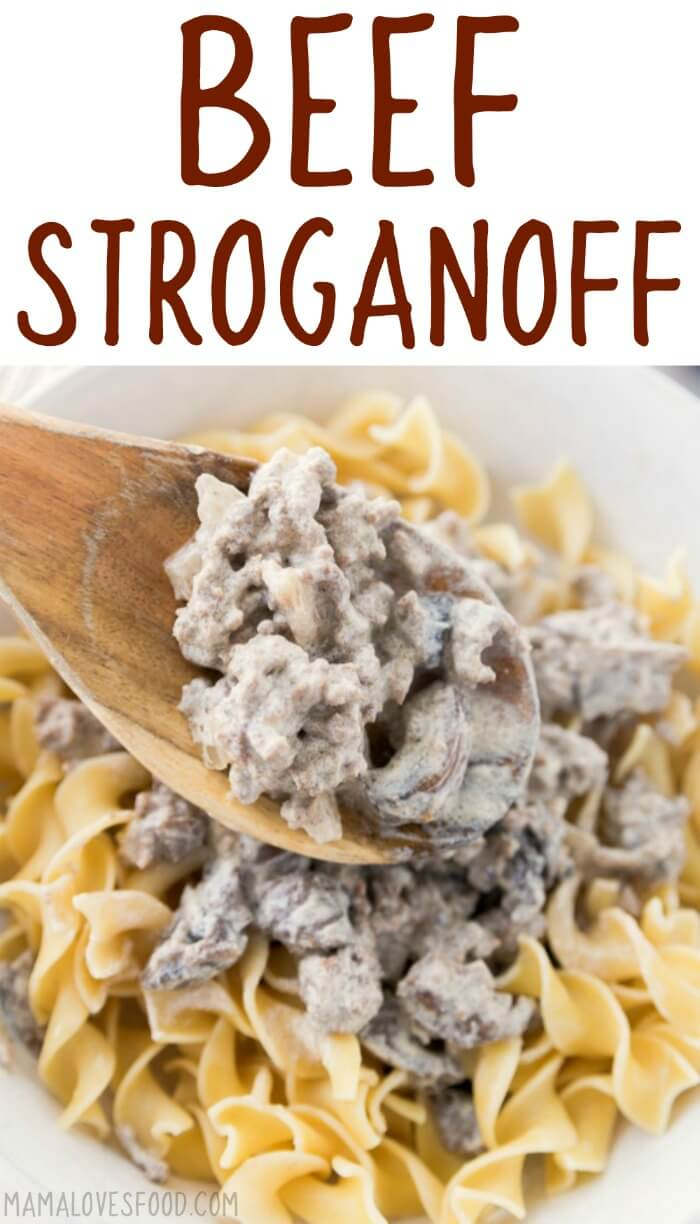 Ground Beef Stroganoff Mama Loves Food