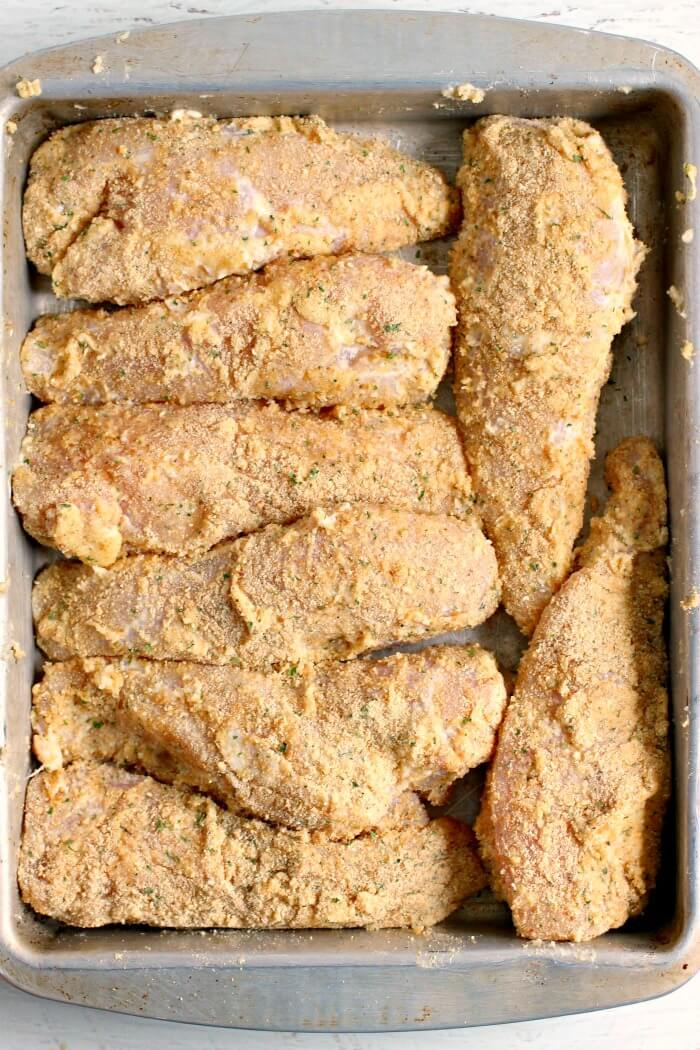 PARMESAN CRUSTED CHICKEN WITH MAYO