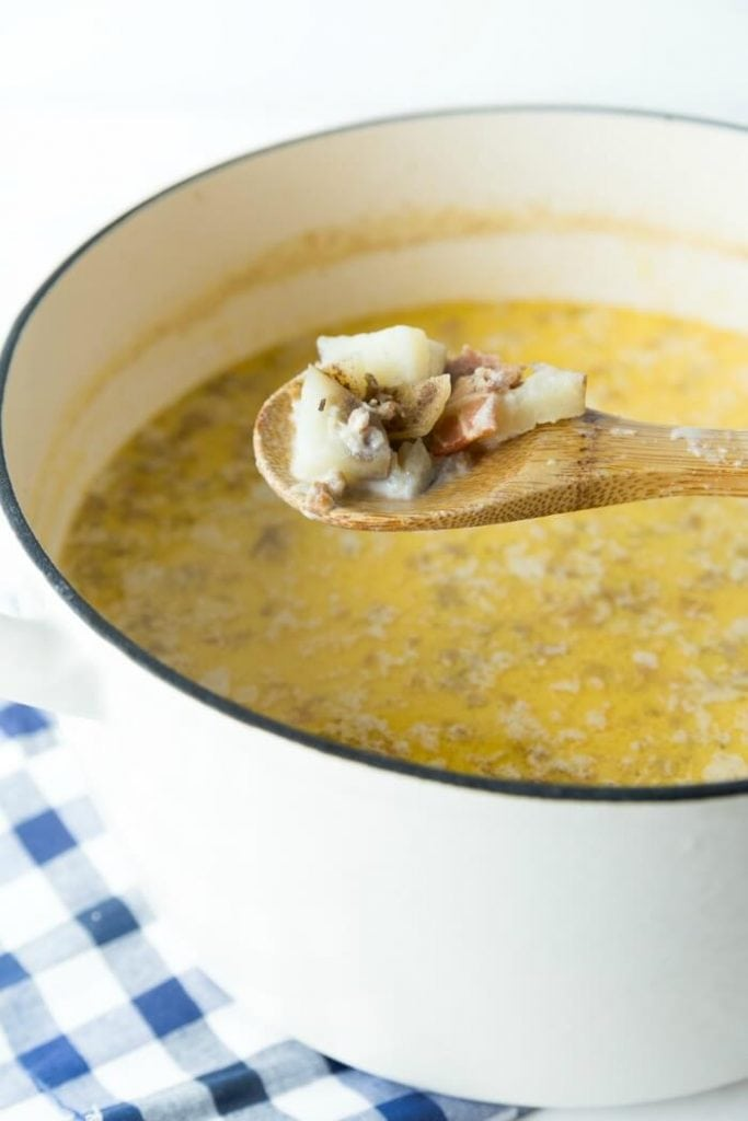 Easy Creamy Italian Soup
