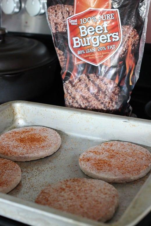 loaded burger skewers
