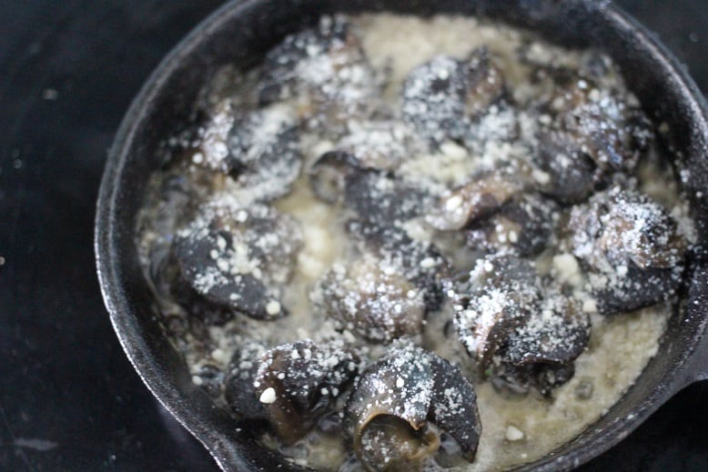 Garlic Parmesan Escargot Recipe