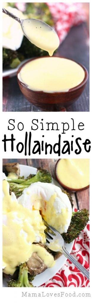 Easiest Hollandaise Sauce Ever