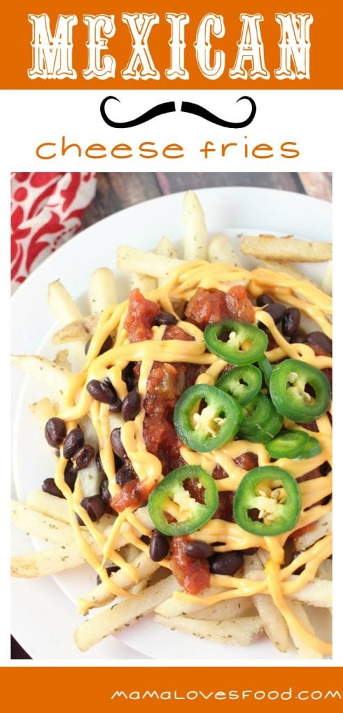 Mexican Cheese Fries