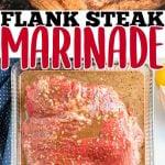 BEST FLANK STEAK MARINADE