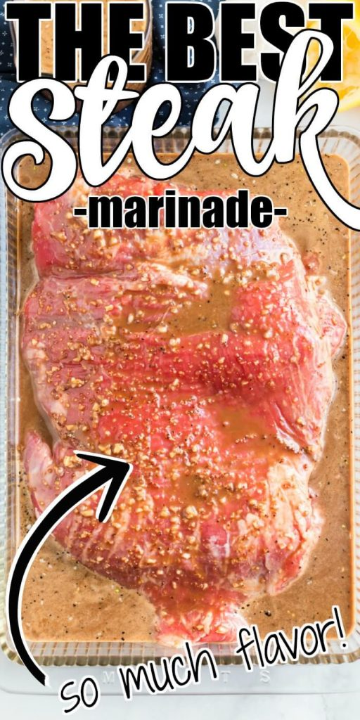 HOW TO MARINATE FLANK STEAK