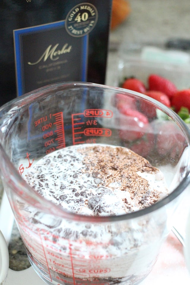 Two Ingredient Chocolate Mousse Recipe