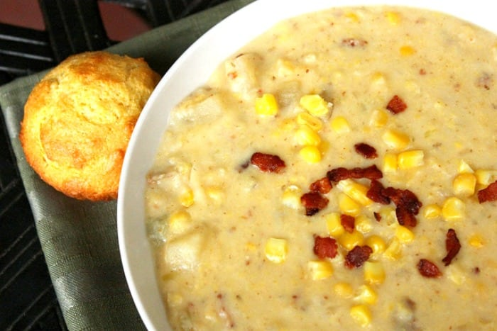 recipe for corn chowder