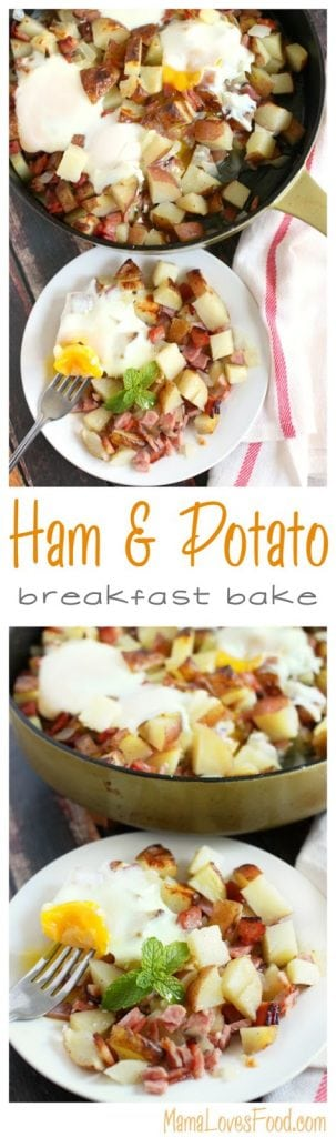 Ham and Potato Breakfast Bake.