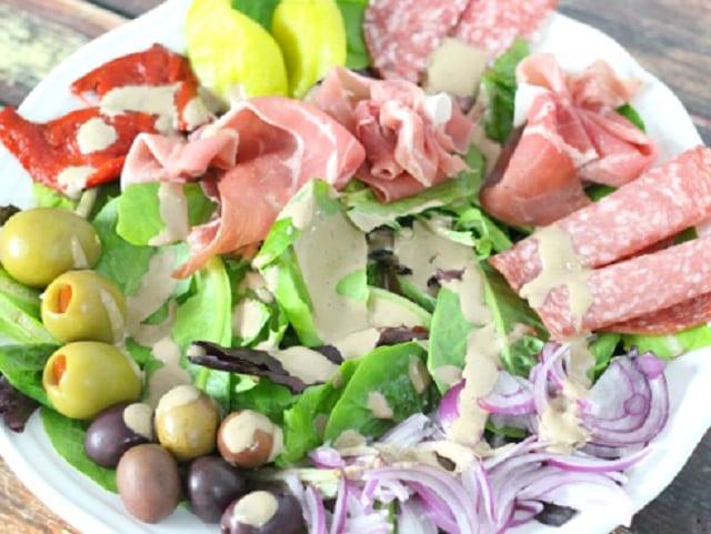 Easy Italian Antipasto Salad
