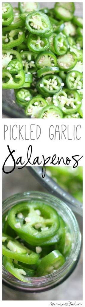 Pickled Garlic Jalapenos