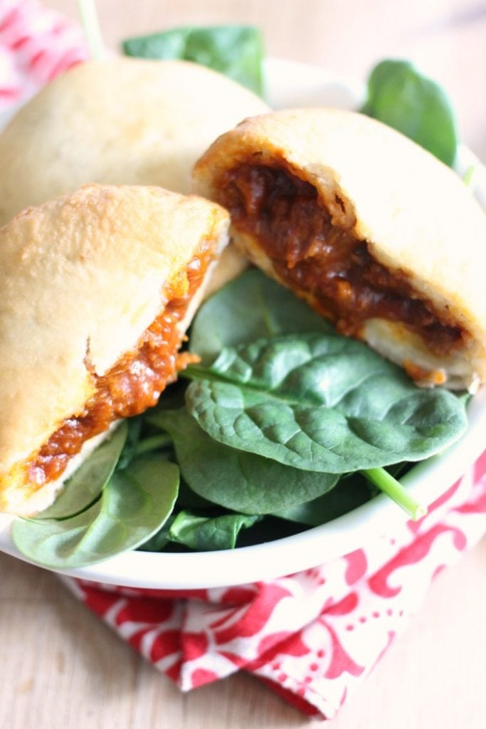 Pulled Porkless BBQ Pockets