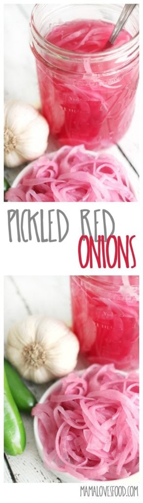 Easy Pickled Red Onions