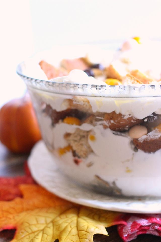 How to Make a Simple Fall Trifle