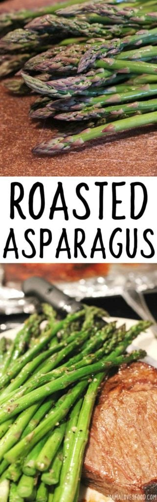 ROASTED ASAPARAGUS RECIPE