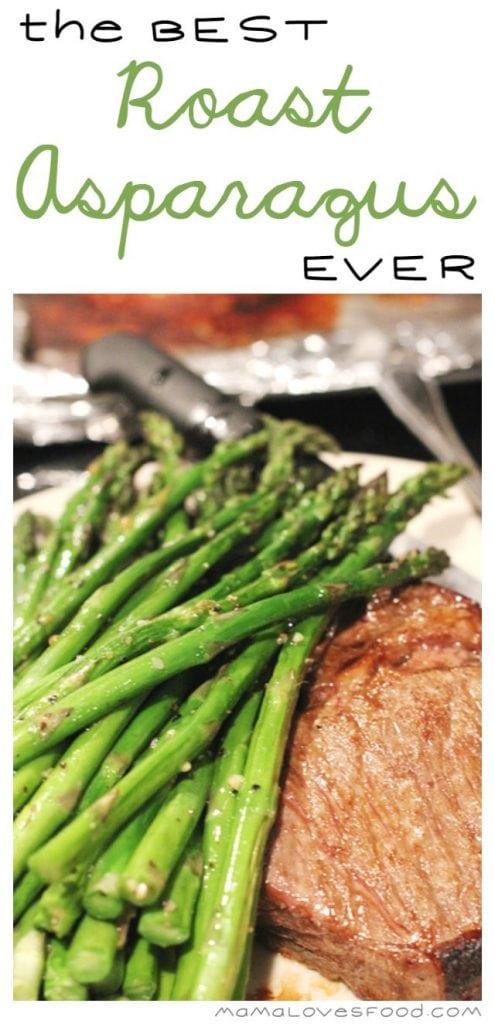 The Best Roast Asparagus EVER.