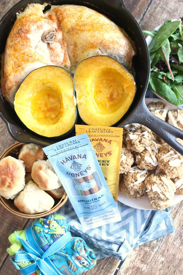 One Pot Roast Chicken and Acorn Squash Recipe