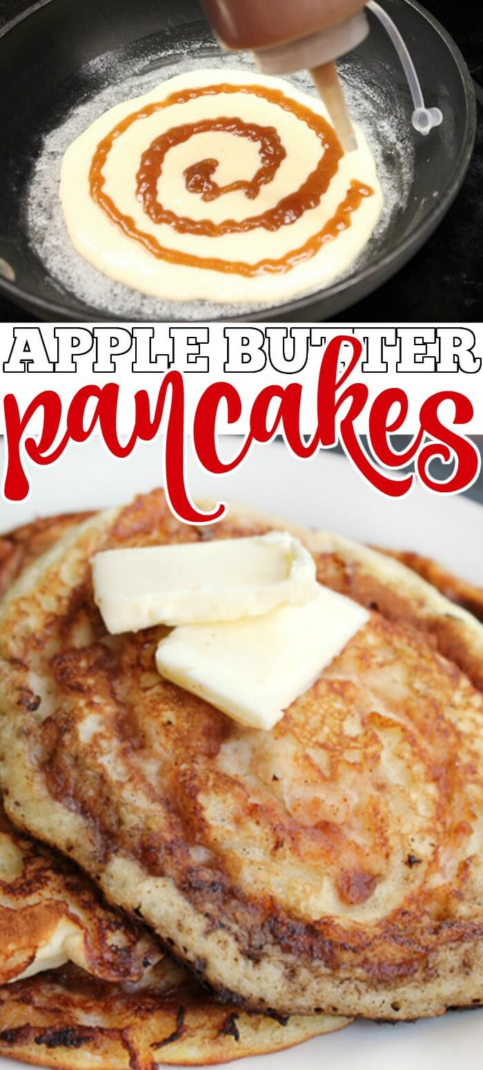 APPLE BUTTER PANCAKE RECIPE