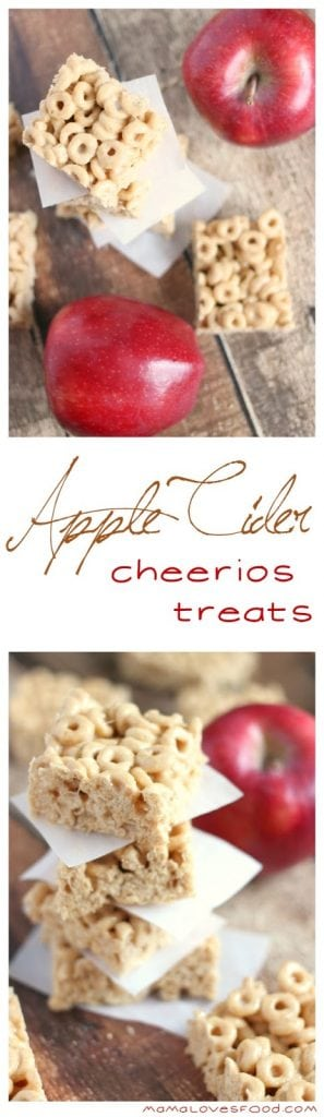 Apple Cider Cheerios Treats