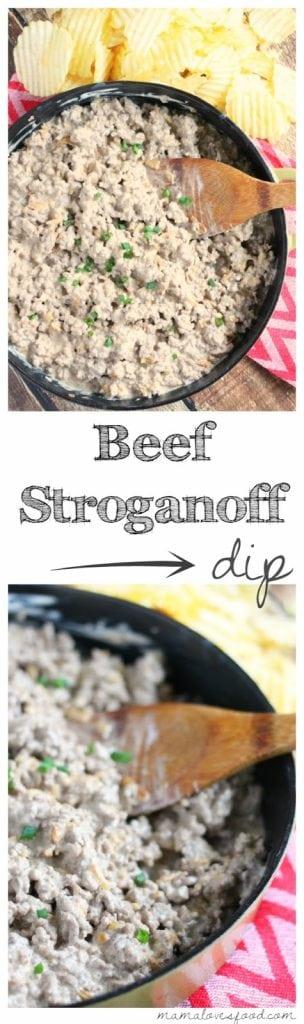 Beef Stroganoff Party Dip