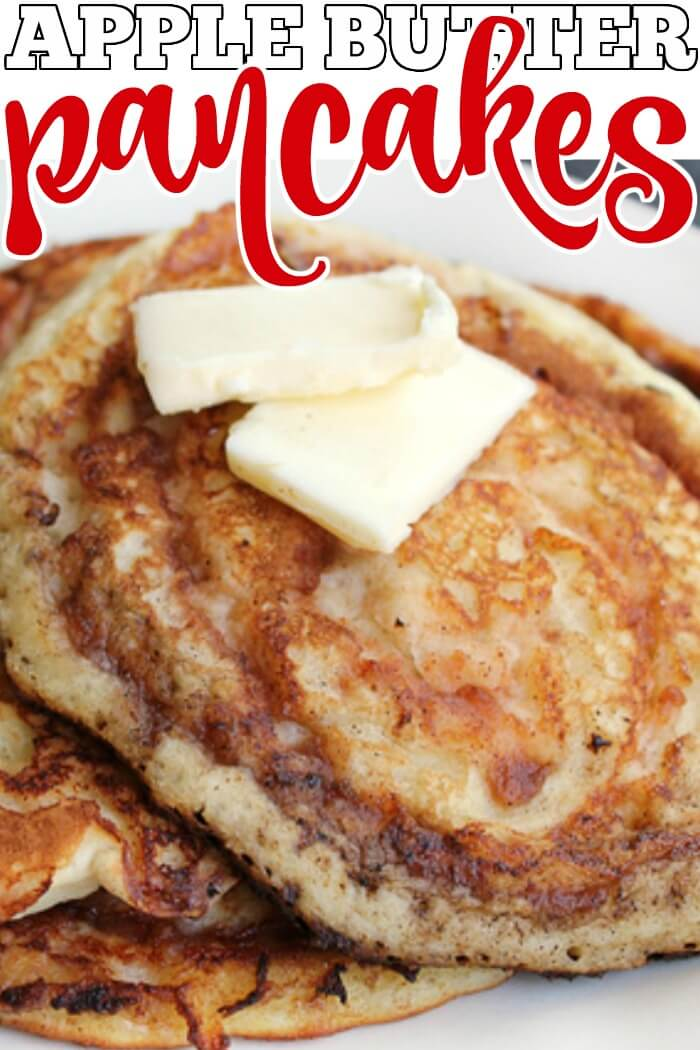 EASY APPLE BUTTER PANCAKES