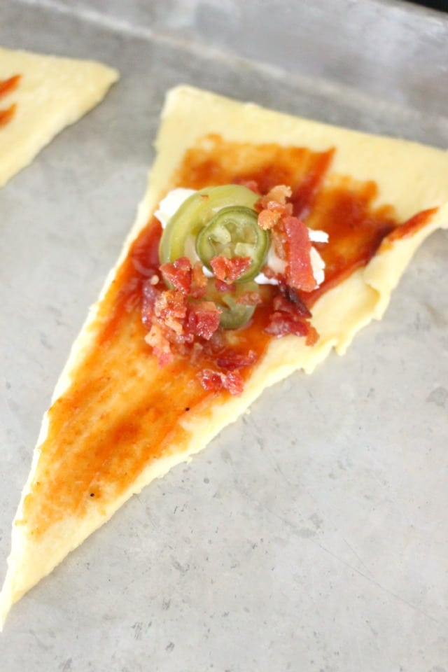 Barbecue Bacon Jalapeno Popper Crescent Recipe
