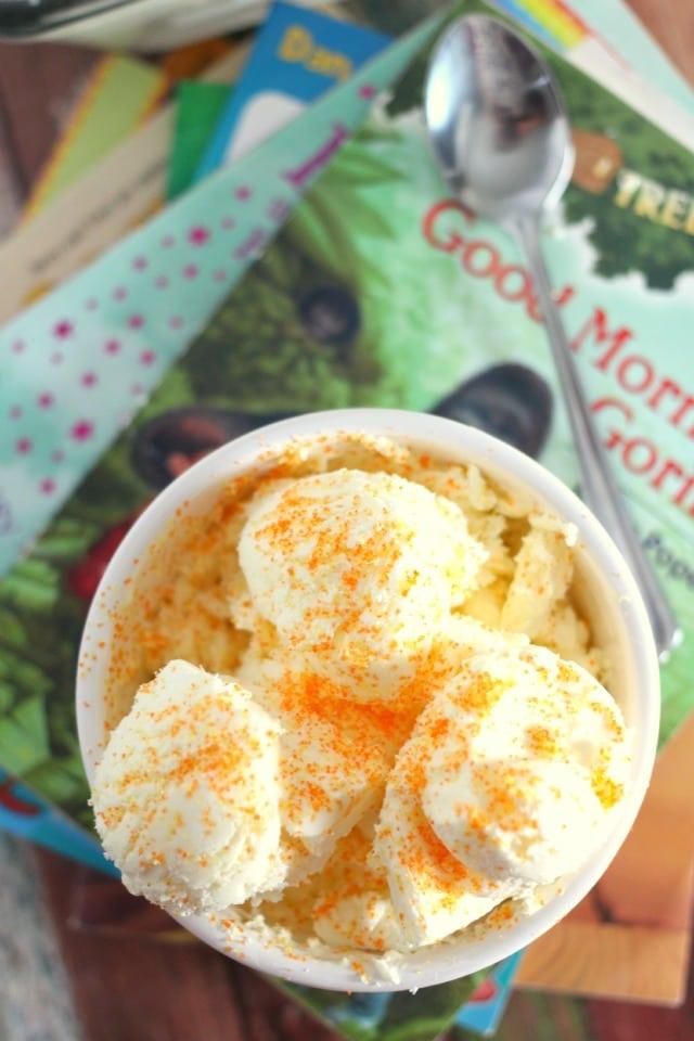 No Churn Creamsicle Ice Cream Recipe