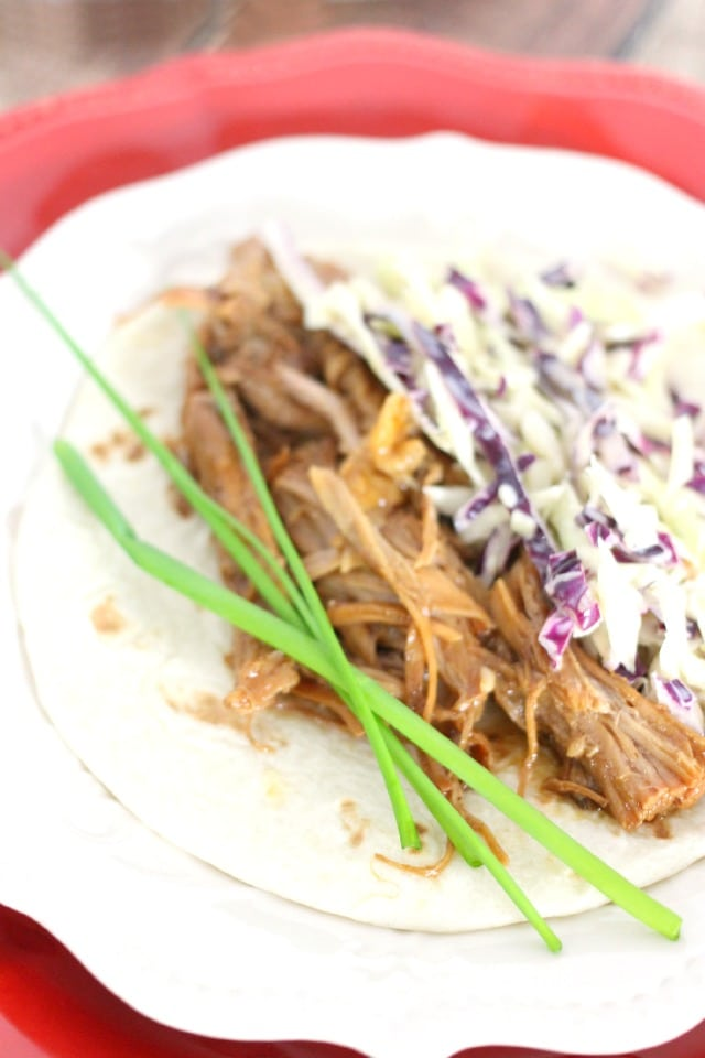 Easy Asian Slaw for Korean Pork Tacos