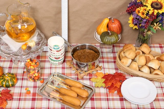 Vegan Pumpkin Chili and a Fall Inspired Party Plan