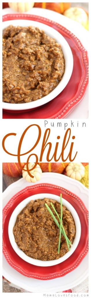 Easy Pumpkin Chili
