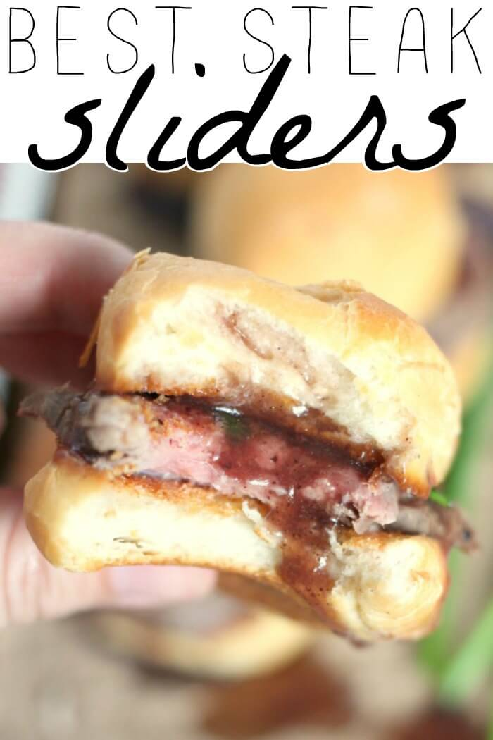 STEAK SLIDERS