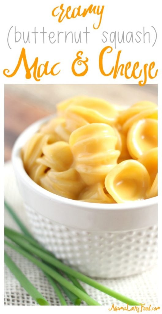 Creamy Butternut Squash Mac & Cheese