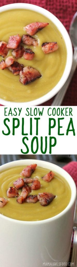 split pea soup recipe slow cooker