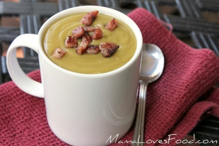 split pea soup with ham slow cooker
