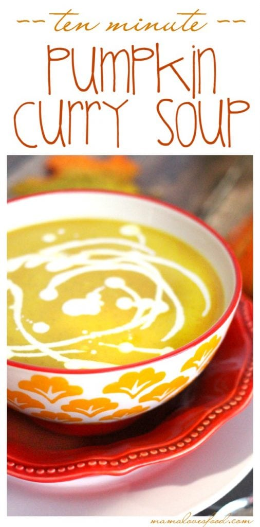 Easy Pumpkin Curry Soup Recipe