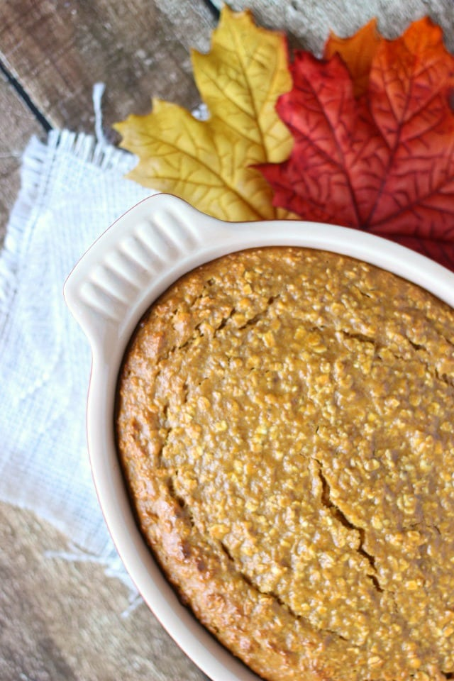 Baked Pumpkin Oatmeal Recipe