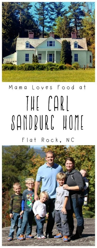 The Carl Sandburg Home and Glassy Mountain, Asheville NC