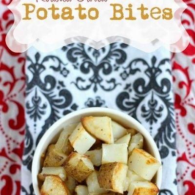 Roasted Garlic Potato Bites
