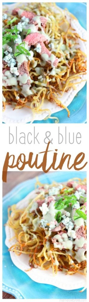Black & Blue Poutine