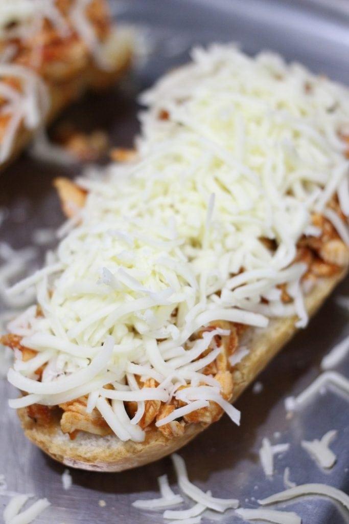 Open Faced Italian Chicken Sandwich Recipe