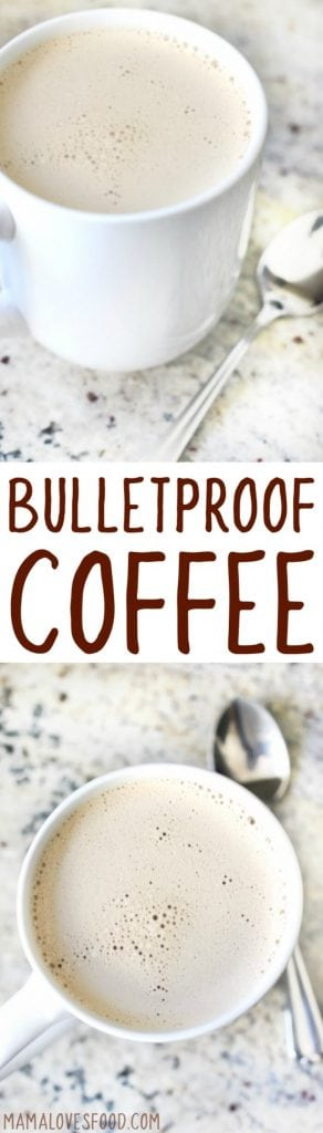 BULLET PROOF COFFEE RECIPE