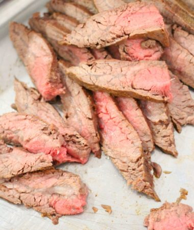 FLANK STEAK OVEN