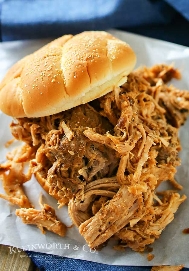 Guinness Pulled Pork Sandwiches from Kleinworth & Co.