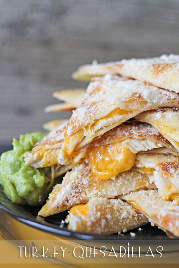 Turkey Quesadillas from Kleinworth and Co.