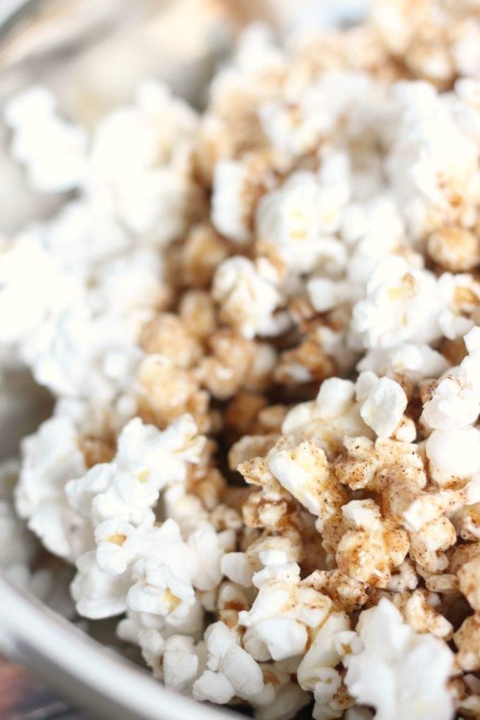 Cinnamon Honey Butter Popcorn Recipe