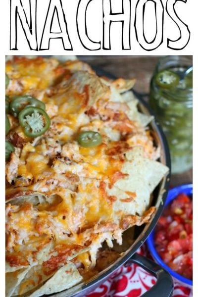 Easy Chicken Nachos Recipe