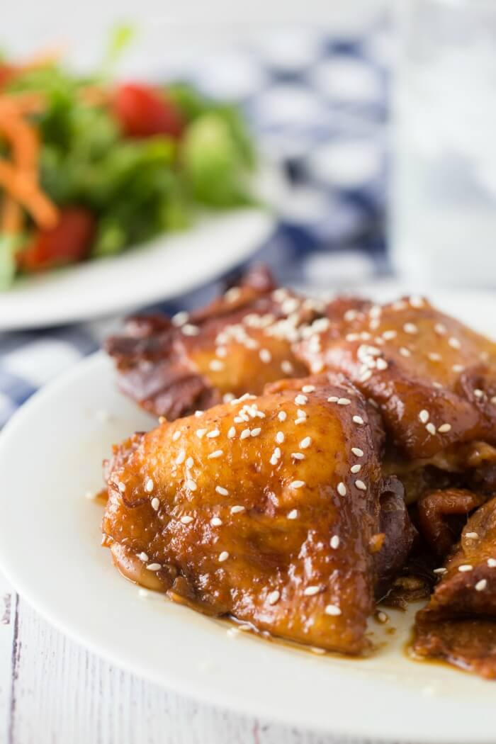 honey garlic chicken slow cooker