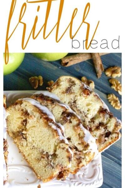 Apple Walnut Fritter Bread Recipe